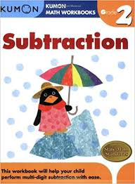 grade 2 subtraction kumon math workbooks kumon publishing