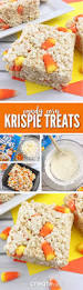 rice krispie treats for thanksgiving candy corn rice krispies recipe fall treats rice krispie
