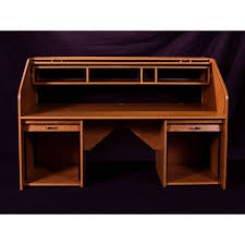 Oak Crest Manufacturing Roll Top Desk by Hsa Rolltop Custom Desk Performance Audio