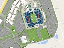 Gillette Stadium Map Patriot Place U2014 Zonas Resort Maps
