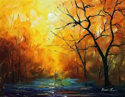 the colors of morning u2014 palette knife oil painting on canvas by
