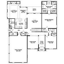 5 bedroom house plans 2 story 5 bedroom 1 story house plans nrtradiant