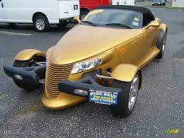 chrysler prowler 2002 inca gold pearl chrysler prowler roadster 56925057