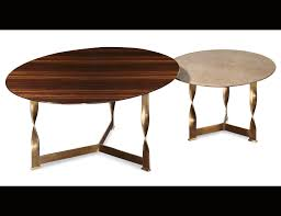 nella vetrina rugiano pliet luxury leather top coffee table