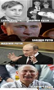 Vladimir Putin Meme - the many faces of vladimir putin silliness pinterest