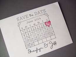 calendar save the date save the date rubber st set diy calendar st with heart