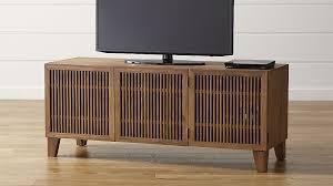 crate and barrel media cabinet marin natural 58 media console reviews crate and barrel