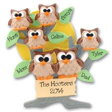 deb co owl family of 6 lt br gt personalized family