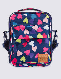 Marks And Spencer Kids Curtains Kids U0027 Heart Print Lunch Bag With Thinsulate M U0026s