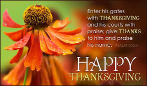 Psalms Of Praise And Thanksgiving Psalm 100 4 Ecard Free Thanksgiving Cards Online