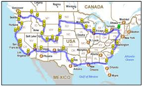 best road maps for usa how to do an epic usa road trip get 1 million views