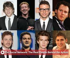 the social cast the social network real people the characters are based on 2010
