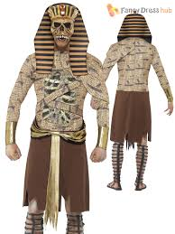 Egyptian Halloween Costumes Mens Ancient Egypt Zombie Pharaoh Gladiator Halloween Fancy