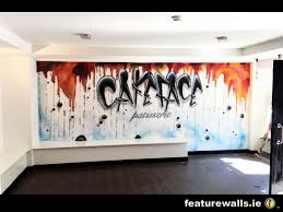 mural painting professionals featurewalls ie cakeface patisserie kilkenny hand painted mural by featurewalls ie professional irish mural artists