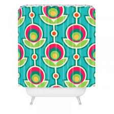 Orange And Blue Shower Curtain Kids Shower Curtains Rosenberry Rooms