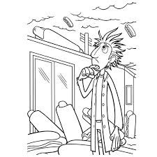 cloudy chance meatballs coloring pages kids batch