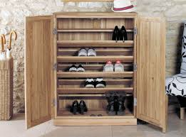 Oak Shoe Storage Cabinet Henley Oak Shoe Cupboard
