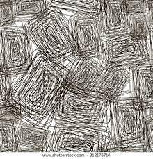 set ink lines doodle scribbles pen stock vector 311772056