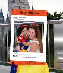 instagram style photobooth prop halloween edition digital file