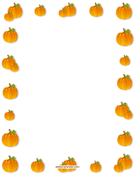 Thanksgiving Stationery Free Printable Pumpkin Stationery And Writing Paper Free Pdf Downloads