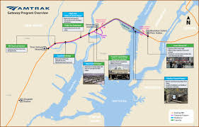 Amtrak Stations Map by Amtrak U0027s New Hudson River Tunnel