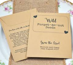 forget me not seed packets forget me not seeds vintage wedding favours favour ideas