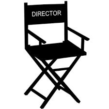 chaise de cinéma chaise directeur cinema deco