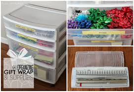 wrapping supplies duo ventures organizing gift wrap supplies