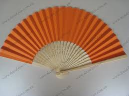 cheap paper fans orange paper fans cheap wedding fans free postage australia no