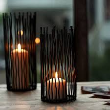 floor candle holders wrought iron modern floor candle holders