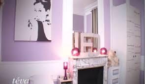 chambre en mauve chambre ado fille violet noir