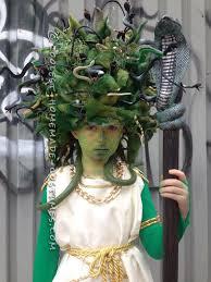 amazing costumes medusa costume and makeup