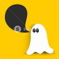 background for halloween banner or background for halloween party night with ghost on
