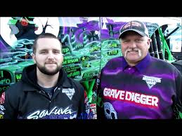 grave digger monster truck schedule watch grave digger u0027s iconic driver and son talk about monster jam
