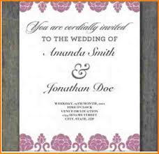 free online wedding invitations 4 online wedding invitation template artist resume