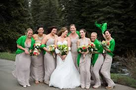 april wedding colors an april wedding in vail luxe mountain weddings magazine