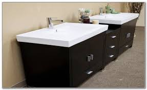 double trough sink bathroom vanity sinks and faucets home