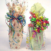 gift basket wrapping paper using cellophane rolls for unique gift packaging