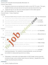 Sap Fico Sample Resume 3 Years Experience Sap End User Resume Sample Free Resume Example And Writing Download