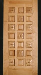 Carved Exterior Doors Made Maple Flowers Door Carved Wood Entry Door By Doorways