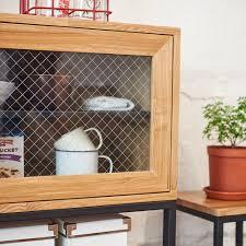 Display Cabinet Furniture Singapore Tinwood Scandi Industrial Foyer Display Cabinet Furniture
