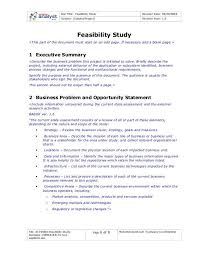 feasibility study template feasibility study ms word template