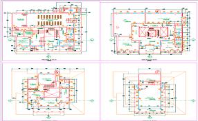 Building Site Plan Building Floor Plan Detail View Dwg File