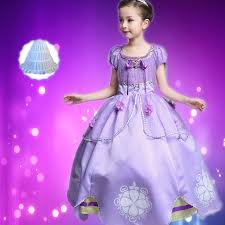 sofia the dress princess sofia dress girl sofia princess purple dress big