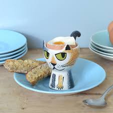 cup cuisine cat egg cup turner