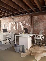 gray magazine u0027s modern glam office industrial office open