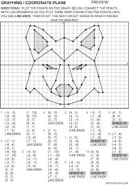 coordinate graph worksheets by math crush graphing coordinate plane