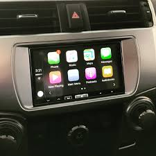 a toyota carplay installs alpine ilx 007 700 in a toyota 4runner u2013 carplay