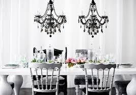black and white wedding decorations classic black and white winter wedding color scheme tulle