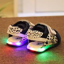 shoes with lights on the bottom wholesale boya 2015 baby shoes with flashing lights and a half year